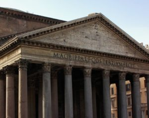 Pantheon's Facade