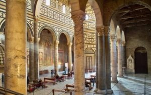Inside the Church of San Miniato al Monte