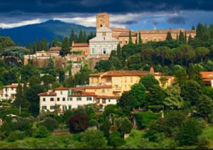 View of San Miniato Church