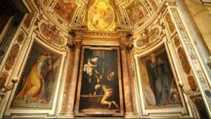Cavaletti Chapel by Caravaggio, Sant'Agostino Church