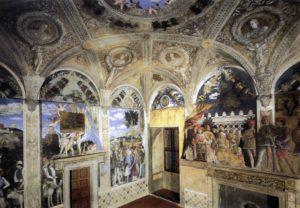 Camera degli Sposi, mantegna