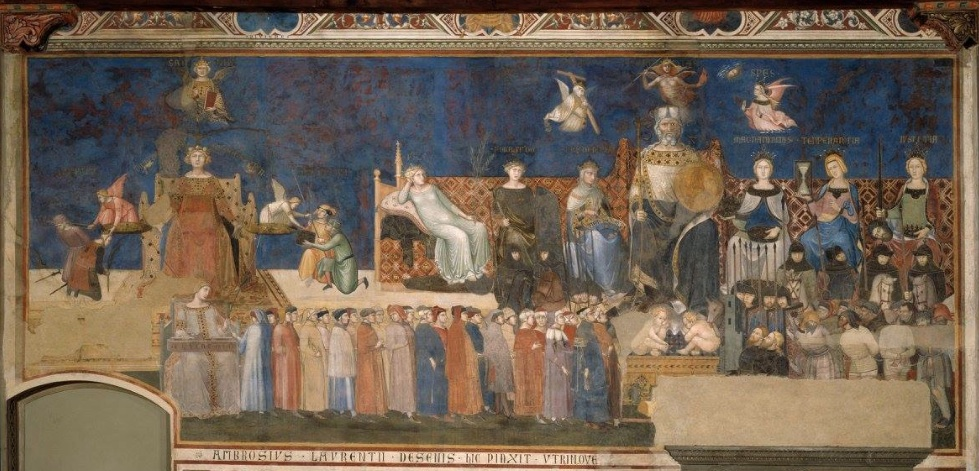 The Allegory of Good and Bad Government_Lorenzetti