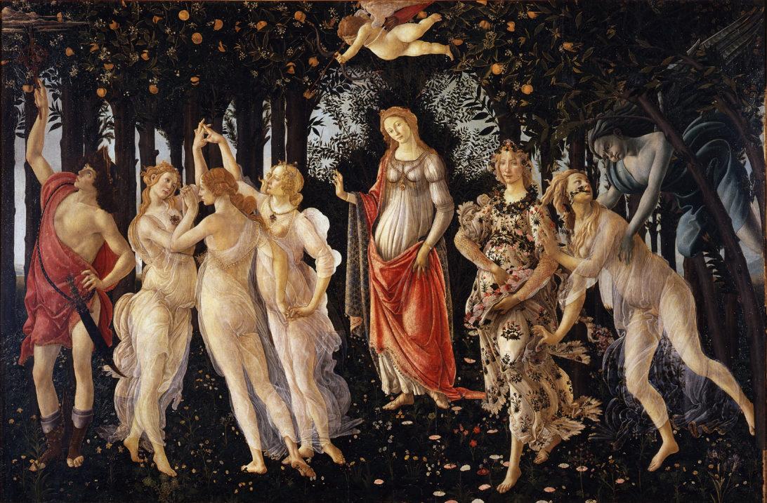 La Primavera by Alessandro Botticelli
