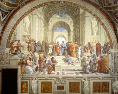 Episode XIII: School of Athens by Raphael Sanzio