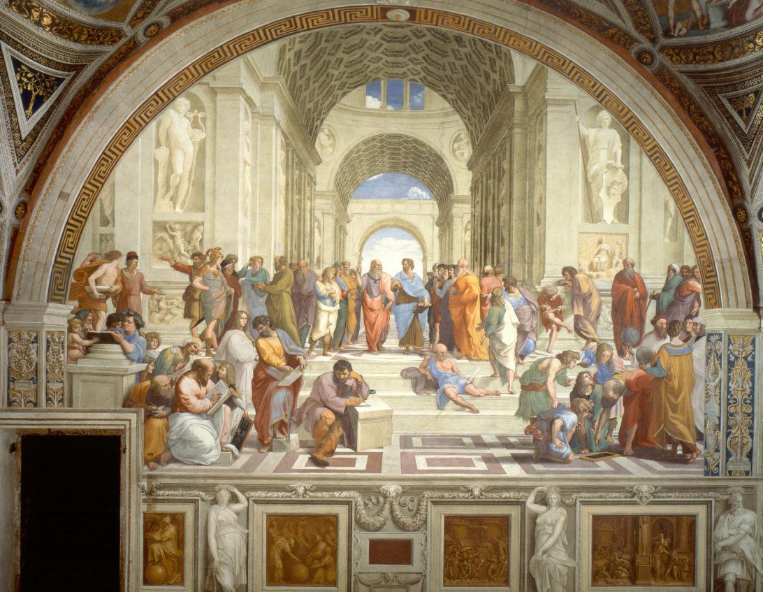School of Athens by Raphael Sanzio