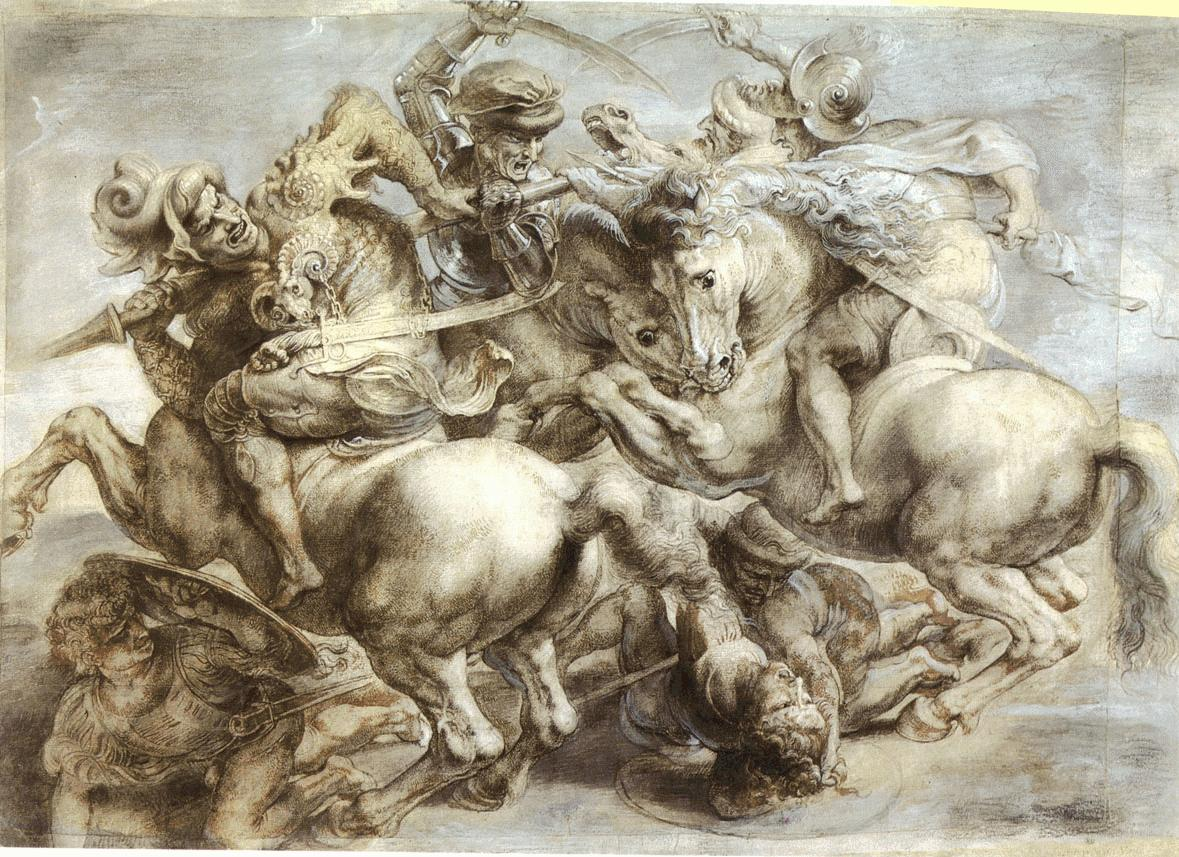 ORIGINAL_Peter_Paul_Ruben_s_copy_of_the_lost_Battle_of_Anghiari