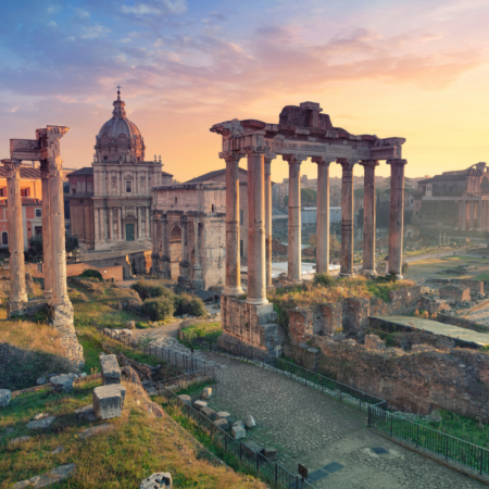 """Italy's Great Monuments: Roman Forum"""
