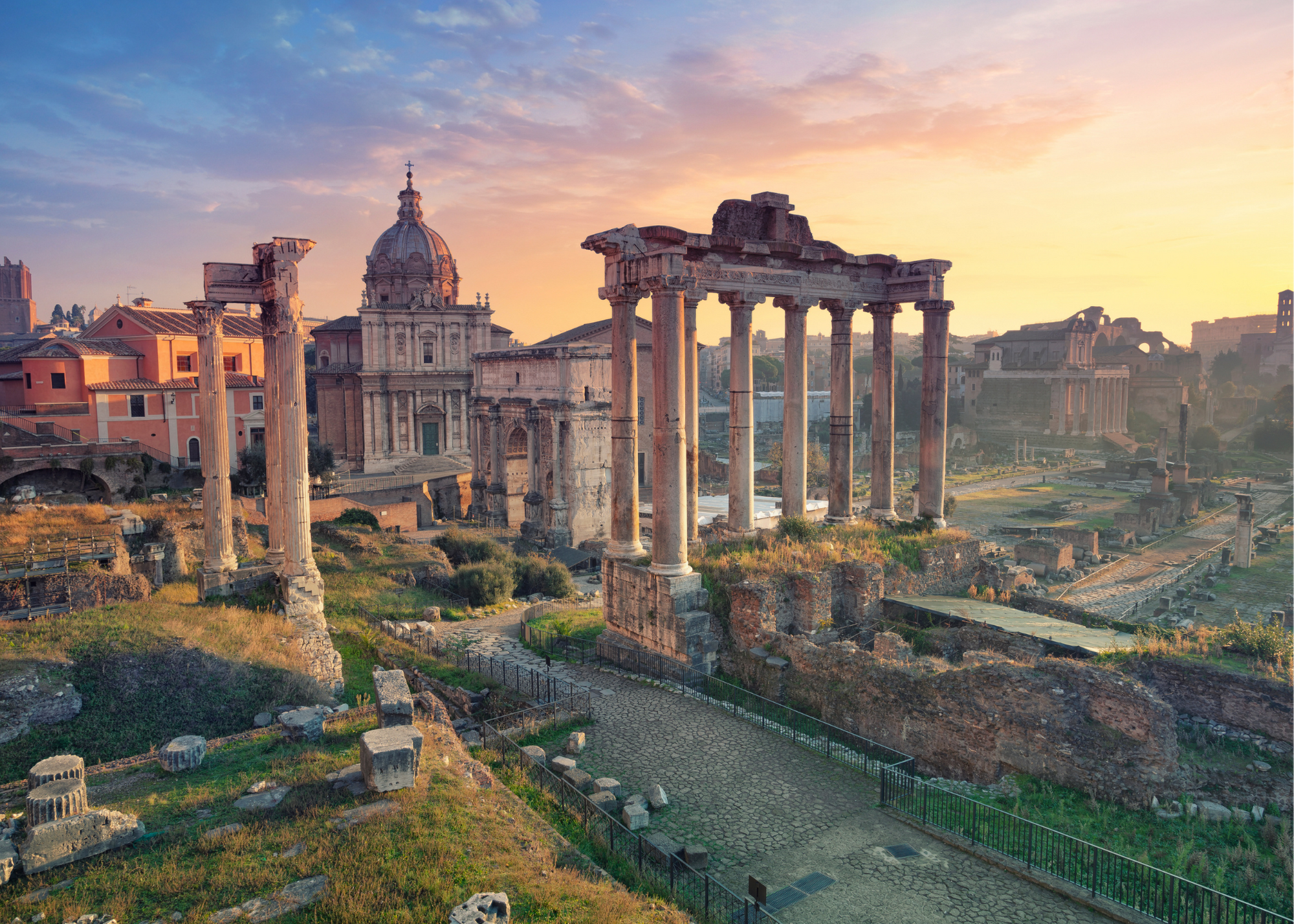 Roman_Forum_Sunset
