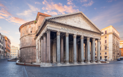 """""""Italy's Great Monuments: Pantheon and Arch of Constantine"""""""