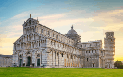 """""""Italy's Great Monuments: Duomo & Leaning Tower of Pisa"""""""