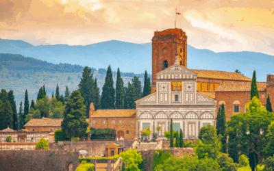 """""""Italy's Great Monuments: San Miniato Church in Florence"""""""