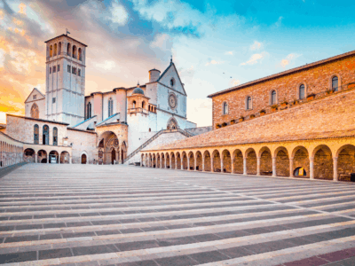 """""""Italy's Great Monuments: The Basilica of St. Francis of Assisi"""""""