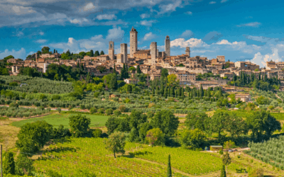 """""""Italy's Great Monuments: San Gimignano's Towers"""""""