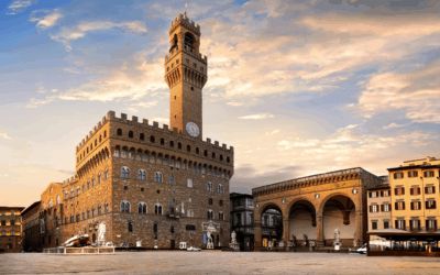 """""""Italy's Great Monuments: Palazzo Vecchio in Florence"""""""
